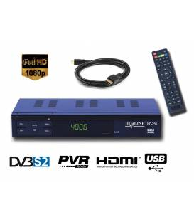 HD-LINE HD-250 Demodulateur satellite HD PERITEL FTA Chaines gratuites
